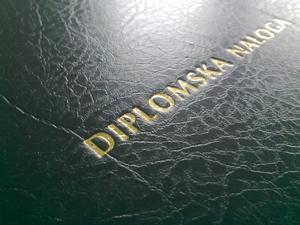Diploma Visoka šola za zdravstvo Izola